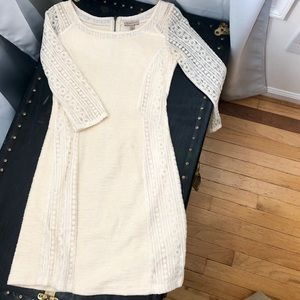 Anthropologie X Boudreaux Fitted Shift Dress